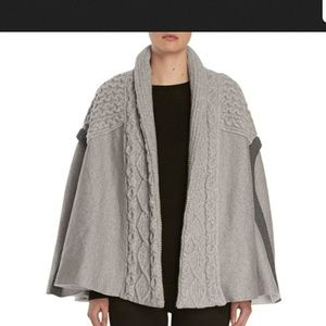NWT-Authentic Burberry Knit Cape